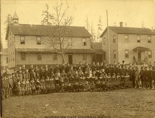 Puyallup Indian School 1889